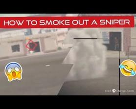 How to smoke out a sniper