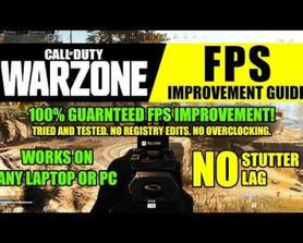 [Improve FPS] I made a tutorial on how to improve FPS for medium and low-end PCs and Laptops.