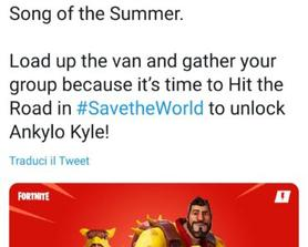 E🅱️ic Games tweeting about stw? Crazy