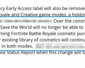 I might be very optimistic but what if they meant, they are adding new types of cosmetics to the locker (for example hats, etc.) And they just won't be in StW? Because they said UPCOMING?