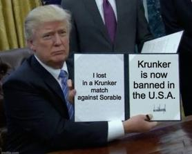 Krunker is now illegal... Thanks a lot Sorable...