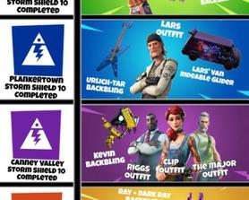 Since Epic removed the ability to earn V-Bucks on STW for new players, I decided to create this concept. This would work as an incentive for both new and old players to try and progress through the STW storyline, I think this is relevant for both STW and BR so I will post it in both subs.