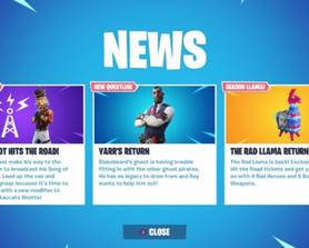 So they update the news tab to show that this weeks driver is Crackshot and that there will be a new modifier along with the Stacatto Shotto but this is not the case. Quinn is still the driver! Was this a mistake?