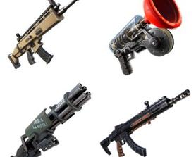 These Mythic Weapons were readded to the files, possibly for Creative, via @iFireMonkey
