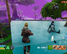 Another water glitch