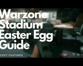 Warzone S5 Stadium Board Room Easter Egg Guide