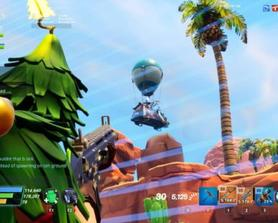 Hey Epic, could we drop out of Lars' van into missions with our gliders and contrails? And for the ride the lightning, can we spawn from a rift in the sky instead? I know it's a lot to ask but it would be super sick! SSDs and ltms wouldn't have to use this method