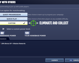 I know this concept has already been done, but c'mon Epic, this would make PWO so much more bearable.