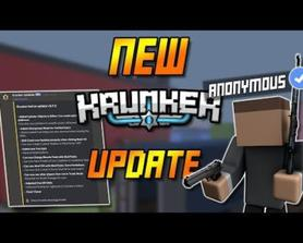 *ANONYMOUS* MODE! NEW FREE KR ODDS & MORE - NEW KRUNKER UPDATE