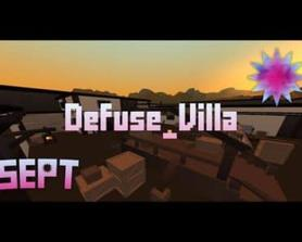 Defuse_Villa by Fuktoscrnsrup | Krunker.io Map Showcase