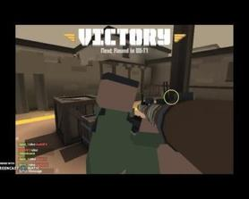 playing krunker.io with rocket launcher
