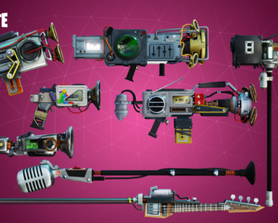 The Boombox - Weapon set!