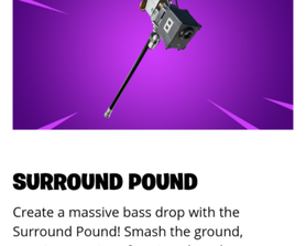 Why the surround pound isnt on the item store yet?