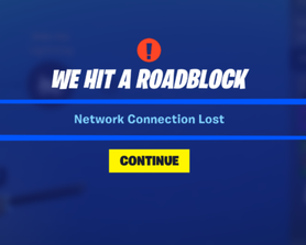 I can't get into the storm shield mission because I keep getting this message. What's going on?