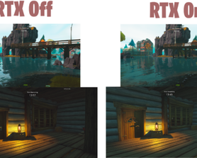STW Ray Tracing Before and After...Personally I prefer default Epic settings, I really think Fortnite Ray Tracing just ain't it chief