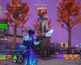 [Screenshot] [Question] When was the Durr Burger sprayed by drift added to this statue?