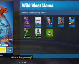 BUG: where's my hero or gun from the llama?
