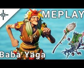 Baba Yaga - Gameplay (Fortnite Battle Royale, @SkinTracker)