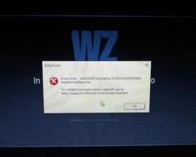 Anyone know how to fix this error I'm getting? Just started after the new pc update
