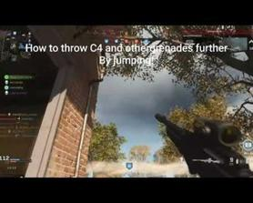 How to throw your C4s just like before!