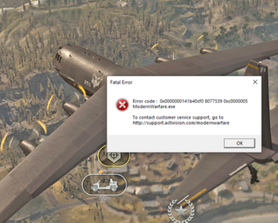 The new Call of Duty: Fatal Error is a very nice game. Trust me!