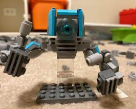 Great job on that last mission, Commander! (My LEGO version of Ray!)