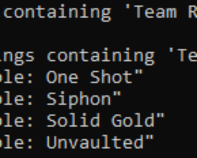 It looks as though multiple Team Rumble variants have been removed (via @TheBriteFuture)