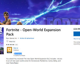 New Fortnite Open-World Expansion DLC available in the Xbox Store NOW! [concept]