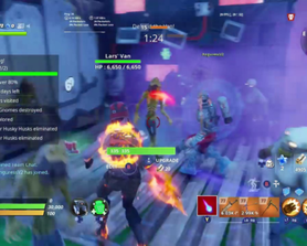 So me and my friend did the stonewood v-buck mission today and we got a spot that allowed us to set this up.