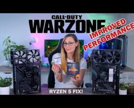 AMD CPU glitch. IF YOU HAVE A AMD CPU AND SUFFER FROM CONSTANT STUTTERS AND FPS DROPS IN WARZONE WATCH THIS VIDEO