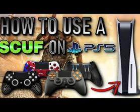 How to use a scuff controller on ps5