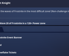 Frost Knight banner is available to obtain again!