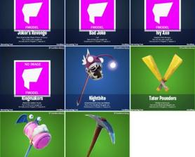 Pickaxes added in 14.50 Via: iFireMonkey