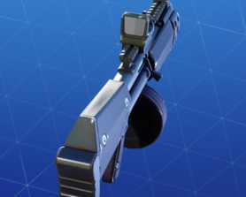 The Room Sweeper - now with a Grey block sight attachment! Forget about that red dot sight, who needed those anyways?