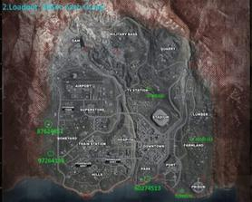 My Team's Warzone Bunker Guide Map