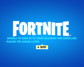 I keep getting this when trying to log on. Anyone know what it means.