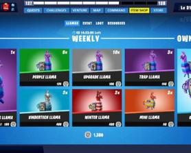 STW Item Shop (New Redesign Inspired)