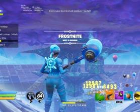 What to do with 10 Port a Forts in Frostnite?