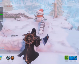 so yeah, killing a krampus with R.O.S.I.E. breaks them and cause them to respawn, and it doesnt drop bluglo even if you killed him without R.O.S.I.E. sometimes he wont attack you. no its not my internet.