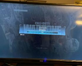 """Everytime I Throw a C4 my game crashes and says """"DEV ERROR 5573"""" help? 3 times now"""