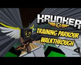Training Parkour (Full Walljump + Classic) Walkthrough | Krunker.io
