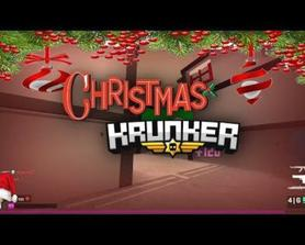 Video about Christmas in krunker