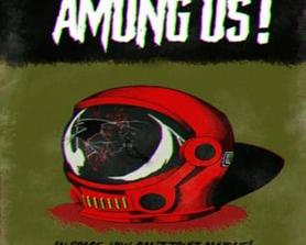 I made a movie poster for Among Us. Hope you like it!
