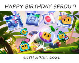 Happy Birthday to this cute but annoying plant : <