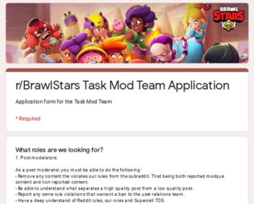 Help Us Moderate /r/BrawlStars! Task & Discussion Moderator Applications