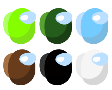 I heard there was going to be a new update, with six new colours. These are the colours I have theorized to be added. If they've already been released, consider me living under a rock, because I did not know.
