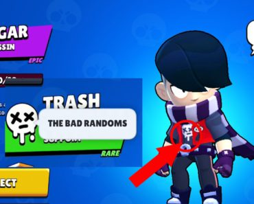 New skin badge - The bad randoms is actually taken form Edgar's t-shirt. What do you think that what Brawl Stars want to say?