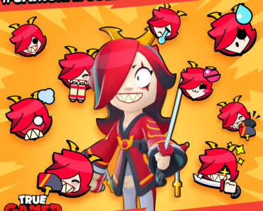 Tried to make pins for Samurai Colette from supercell make campaign.