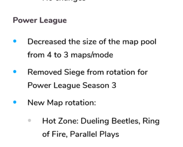 What are your opinions on this siege will be removed from power league