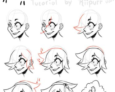 [Fanart-Help] Someone on Twitter asked me of how I draw Colette's hair, so… Colette's hair tutorial!